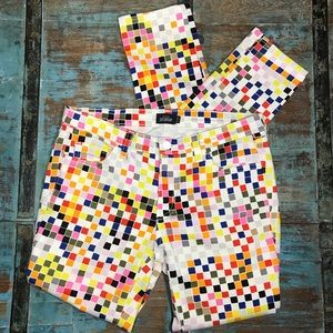 Kate Spade Saturday Colored Squares Jeans